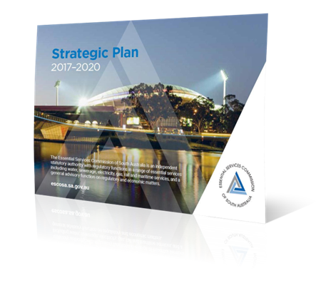 Strategic plan 2017-2020 front cover image